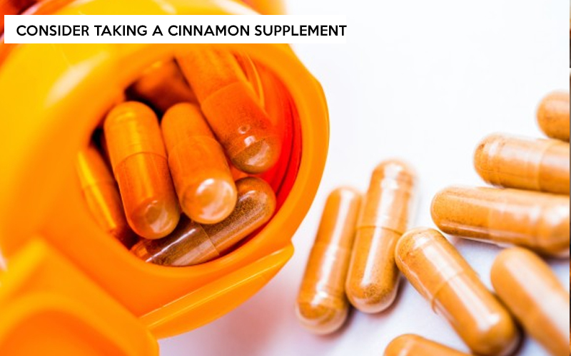 Consider Taking a Cinnamon Supplement