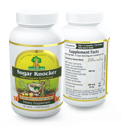 Sugar Knocker - Best Ayurvedic Medicine for Diabetes